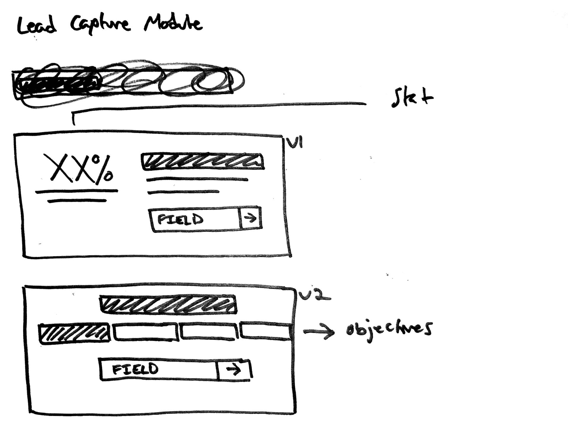 Lead Capture Module